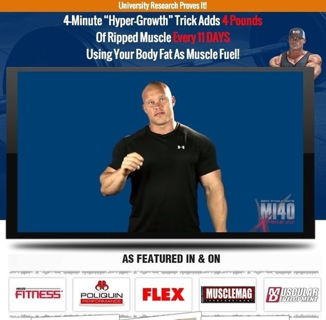 Ben Pakulski's MI40X Workout Program Review. Powered by RebelMouse | CLICKBANK.NEW | Scoop.it