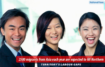 NT Government Considers Hiring More Asian Migrants To Boost Workforce   Skilled Workers in Australia   Scoop.it