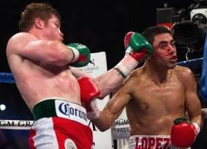 'Canelo' Alvarez vs. JosesitoLopez - CBS Los Angeles | Sports Photography | Scoop.it