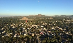 Up in the air: Mexican pyramids as seen from a hot air balloon – in pictures | Mexico | Scoop.it