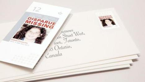 Vermiste kinderen op postzegel | BlokBoek e-zine | Scoop.it