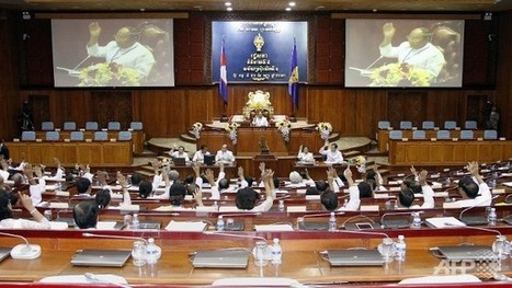 Cambodian MPs reappoint Hun Sen despite poll row | Global Politcs- Current Events | Scoop.it