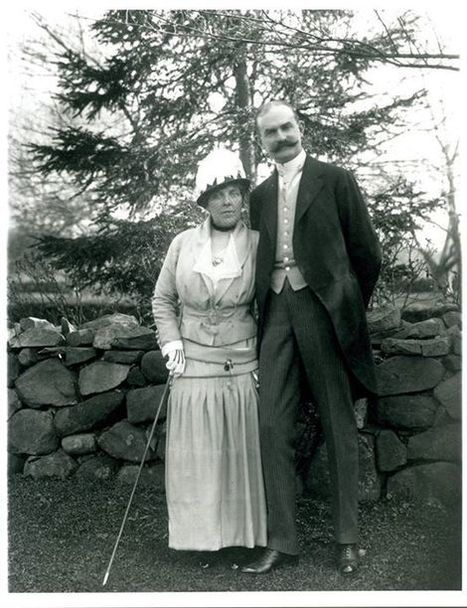 #TBT On May 6, 1916, Theodate married John Wallace Riddle at her home in Farming... | Connecticut History | Scoop.it