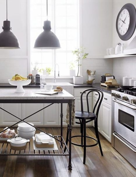 20 Modern Kitchen Stools For an Exquisite Meal | Designing Interiors | Scoop.it