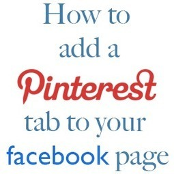 How to Add a Pinterest Tab to your Blog's Facebook Page | Pinterest | Scoop.it
