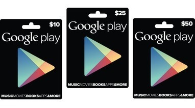 Google Play - Gift Cards | The Future of Payments | Scoop.it