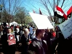 Libyan and Syrian Dissidents Gather by the White House in Washington DC   Coveting Freedom   Scoop.it