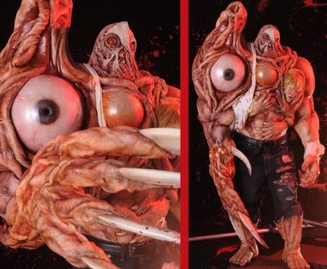 Resident Evil 2 cosplay outfit and its GIANT MOVING EYEBALL are terrifyingly ... - RocketNews24 | Photoshooting | Scoop.it