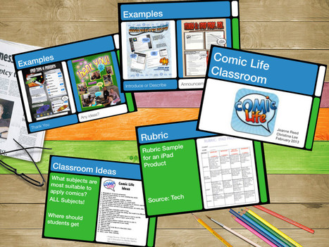 Comic Life PD Keynote and Video « techchef4u | idevices for special needs | Scoop.it