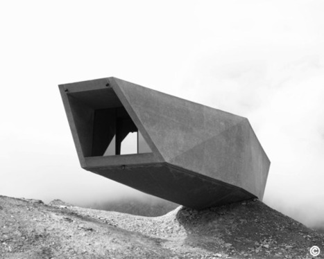 Italie, Timmelsjoch High Alpine Road par Werner Tscholl architekt | Architecture et montagne | Scoop.it