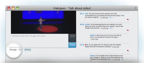 Vialogues. Dialogue collaboratif autour de videos. | Time to Learn | Scoop.it