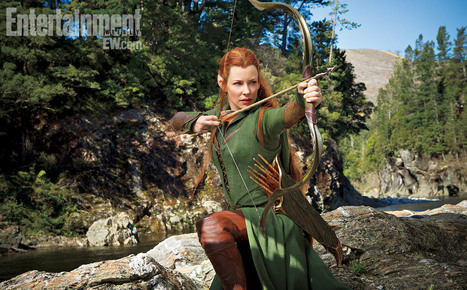 The Hobbit: Desolation-of-Smaug - Evangeline Lilly as new character 'Tauriel' | 'The Hobbit' Film | Scoop.it
