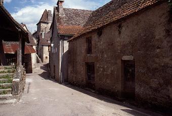 Carennac : La rue du Médéric ... | Autour de Carennac et Magnagues | Scoop.it