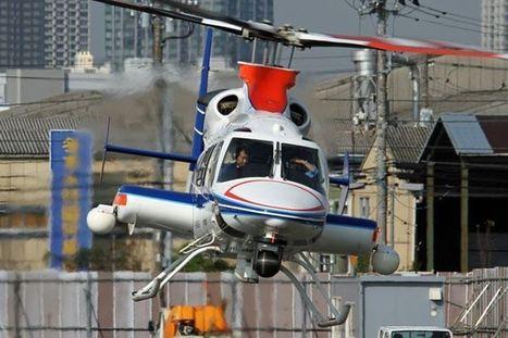 JAPAN TOUR 2012, en direct de l'héliport de Tokyo avec Stéphane GIMARD et André BOUR : un hélicoptère Bell 430 de la télévision de Tokyo | Heli Daily | Scoop.it