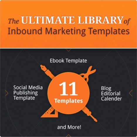 The Ultimate Library of Inbound Marketing Templates | We're in Business | Scoop.it
