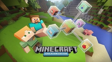 Microsoft to launch full version of Minecraft Education on Nov. 1 | Technology Resources for K-12 Education | Scoop.it