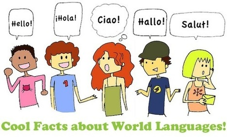 20 Cool facts about languages - blog.palabea.com | teach and learn at Palabea.com | Scoop.it