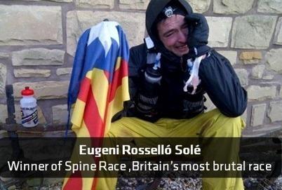 El català Eugeni Roselló guanya la Spine Race, la cursa més dura del Regne Unit, de 430 km | AC Affairs | Scoop.it