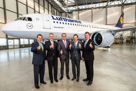 First A320neo delivery opens new era in commercial aviation | Aviation & Airliners | Scoop.it