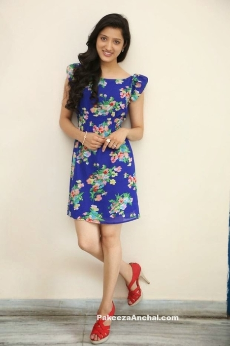 Richa Panai in Floral printed MiniSkirt dress with Red High heels | Indian Fashion Updates | Scoop.it