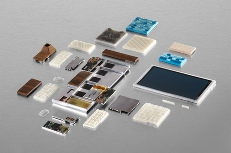 Google dévoile le projet ARA, un smartphone modulaire (qui pourrait coûter 50 dollars)   Ressources pour la Technologie au College   Scoop.it