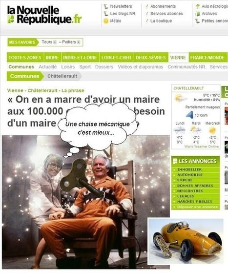 Orange mécanique | Chatellerault, secouez-moi, secouez-moi! | Scoop.it