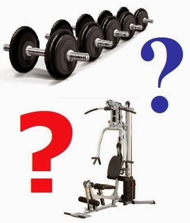 Free Weights vs. Machines - What Should You Use? | Useful Fitness Articles | Scoop.it