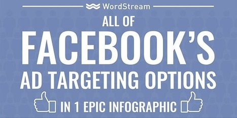 All of Facebook's Ad Targeting Options (in One Epic Infographic) | WordStream | CustDev: Customer Development, Startups, Metrics, Business Models | Scoop.it