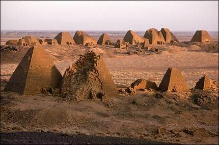 Ancient Nubian Pyramids | Native Americans and Mesopotamia | Scoop.it
