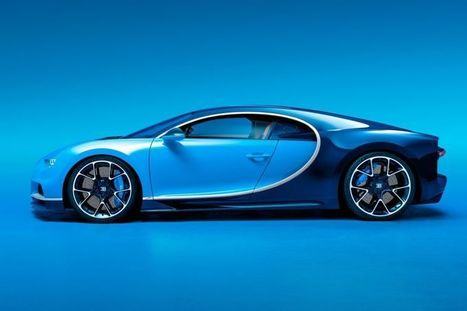 The Incredible Tech In The New Bugatti Chiron, The World's Most Powerful Production Car | Innovation | Scoop.it