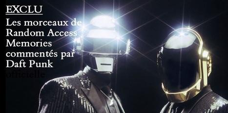 "Daft Punk revient avec ""Random Access Memories"" | Daft Punk France Columbia | Scoop.it"