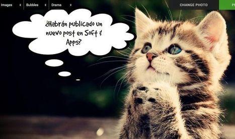 Phrase: poner bocadillos de texto a tus fotos fácilmente y online | Educacion, ecologia y TIC | Scoop.it