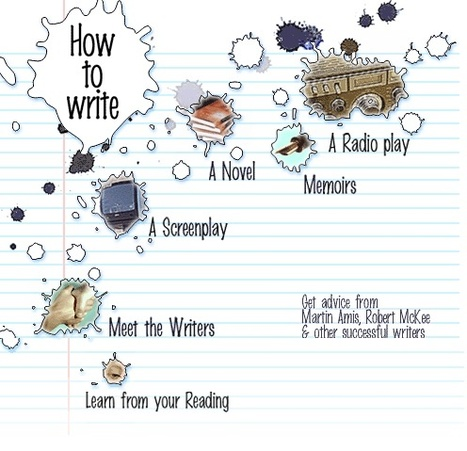 How to write : Novels, Screenplays, Memoirs... | Advice for Writers | Scoop.it