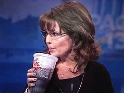 WATCH: Sarah Palin Takes Sip From 'Big Gulp' Soda at CPAC Speech | Freedom and Politics | Scoop.it
