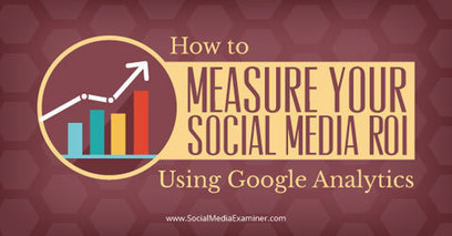 How to Measure Your Social Media ROI Using Google Analytics | Marketing in the Digital World | Scoop.it