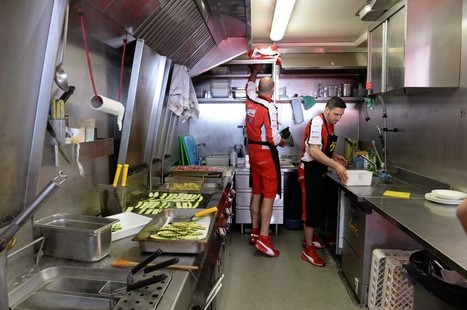 Ducati's travel kitchen | Ductalk Ducati News | Scoop.it
