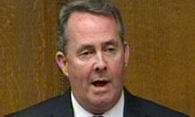 Liam Fox tiptoes round the notion that he did anything wrong | Poly Ticks | Scoop.it