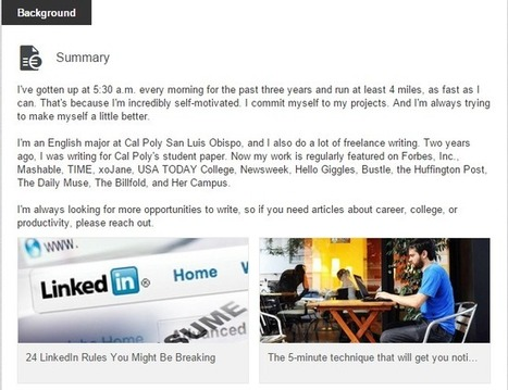 7 ways to take your LinkedIn profile from mediocre to amazing | All About LinkedIn | Scoop.it