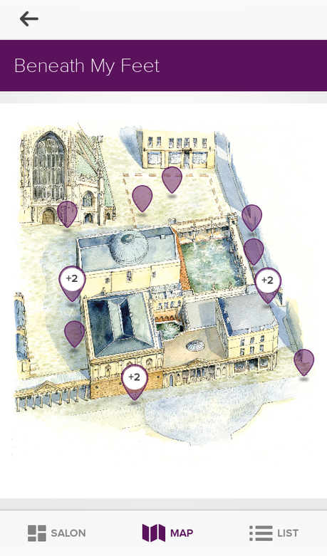Roman Baths launches 'Beneath My Feet' app | Historic Thermal Cities Villes Thermales Historiques | Scoop.it