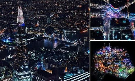 Photographer Captures Stunning Aerial Images Of London At Night | Everything from Social Media to F1 to Photography to Anything Interesting | Scoop.it