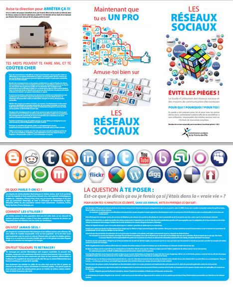Réseaux sociaux : Guide d'utilisation pour jeunes avertis! | l'enseignement d'économie gestion | Scoop.it
