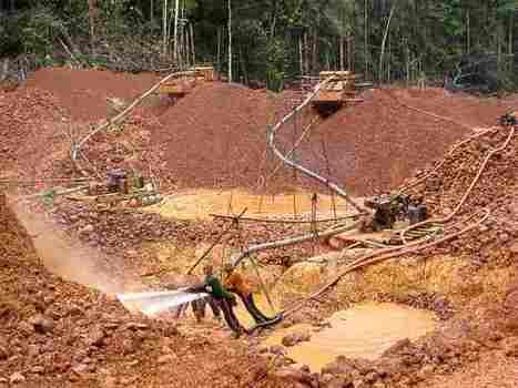 Amazon rainforest imperiled in gold rush « SELVA- Vida Sin Fronteras | Environmental news from Peru | Scoop.it