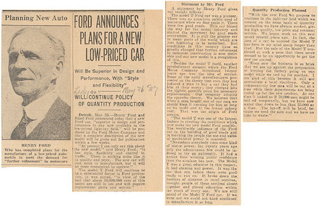 Henry Ford | Ford Motor Company | Scoop.it