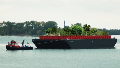 Floating food forest brings nourishing nosh to New York | Lauri's Environment Scope | Scoop.it