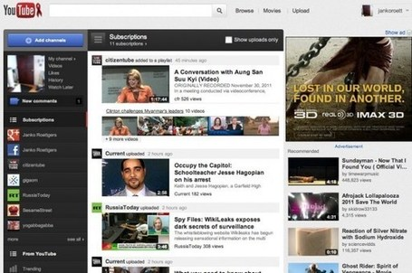 YouTube reinvents itself with massive relaunch | Into the Driver's Seat | Scoop.it