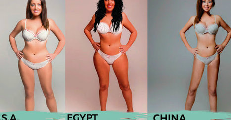 How 18 Different Countries Photoshopped One Woman to Fit Their Idea of 'Beautiful' | Liberal Studies | Scoop.it
