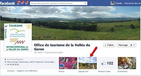 Page Facebook de l'Office de tourisme de la Vallée du Garon | Sites qui ont implémenté les Widgets Sitra | Scoop.it
