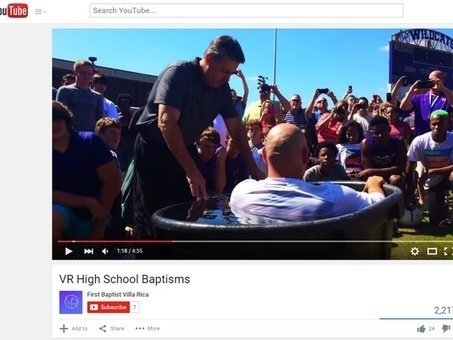 Villa Rica GA School district investigating mass baptism at football practice | Hodgepodge | Scoop.it