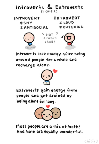 HELLO CHLOE | Introverts, extroverts, shyness and other behavior | Scoop.it