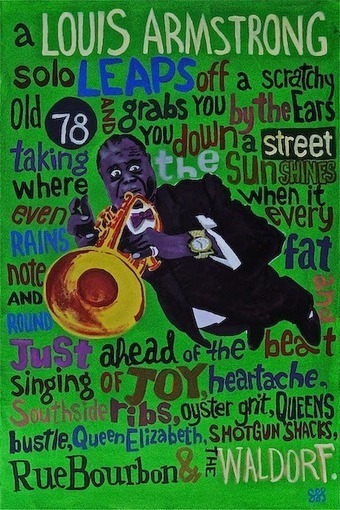 Jazz and draw: Louis Armstrong - Rue Bourbon | Jazz Plus | Scoop.it